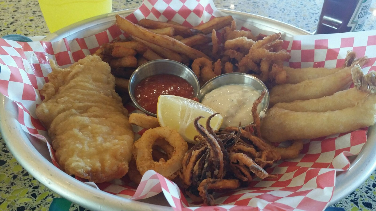 Fried Seafood Platter Jpg Member Albums Cruise Critic Community