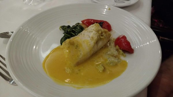 Main Course - Almond Crusted Cod