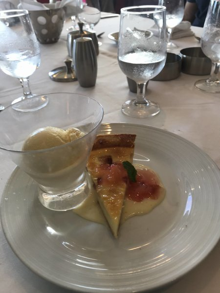 Lunch Dessert - Swiss Plum Tart