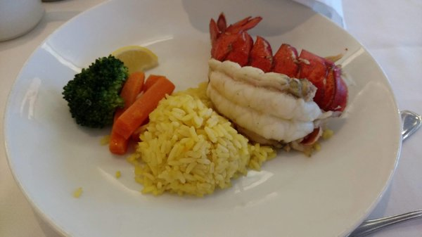 Main Course - Broiled Lobster Tail
