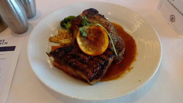 Main Course - Mojo Marinated Grilled Pork Chop