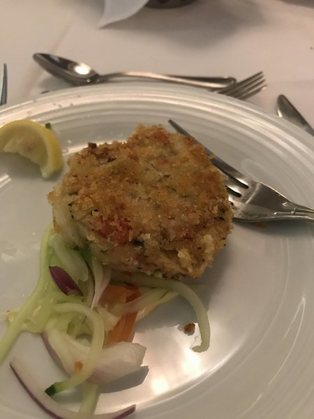 Starters - Sauteed Maryland Style Crab Cake