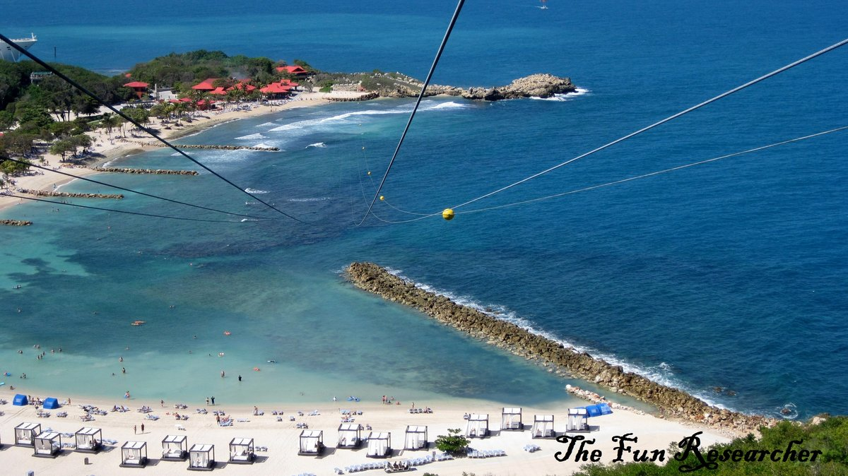 Dragon S Breath Or Dragon S Fire Flight Line In Labadee Timing For Excursions Royal Caribbean International Cruise Critic Community