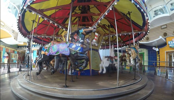 Oasis Boardwalk Carousel