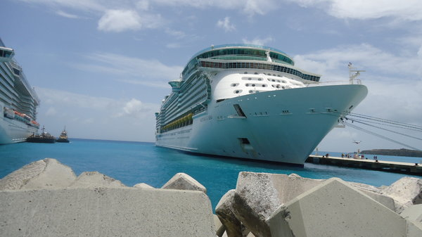 Freedom Of The Seas In Saint Martin