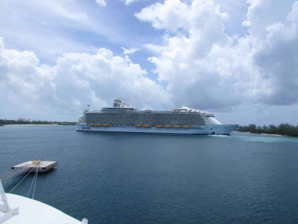 Harmony Leaving Nassau
