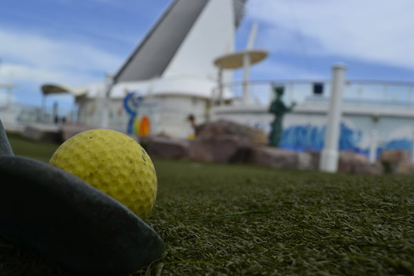 Mini Golf Oasis Of The Seas