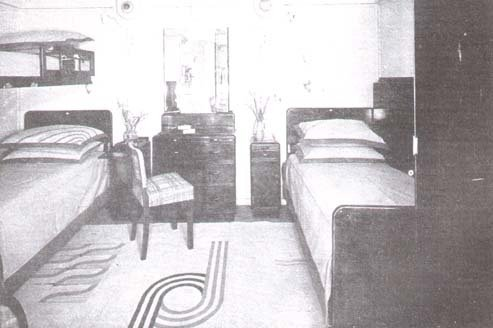 QUEEN MARY-1 ....Cabins of yore