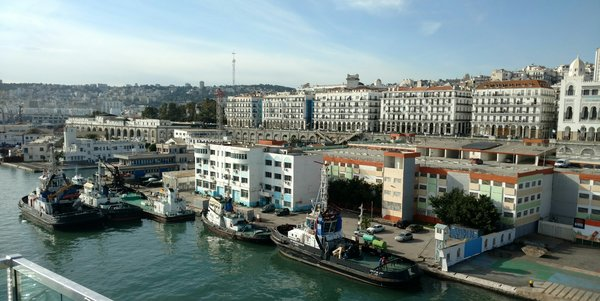 Port of Algiers, Algeria