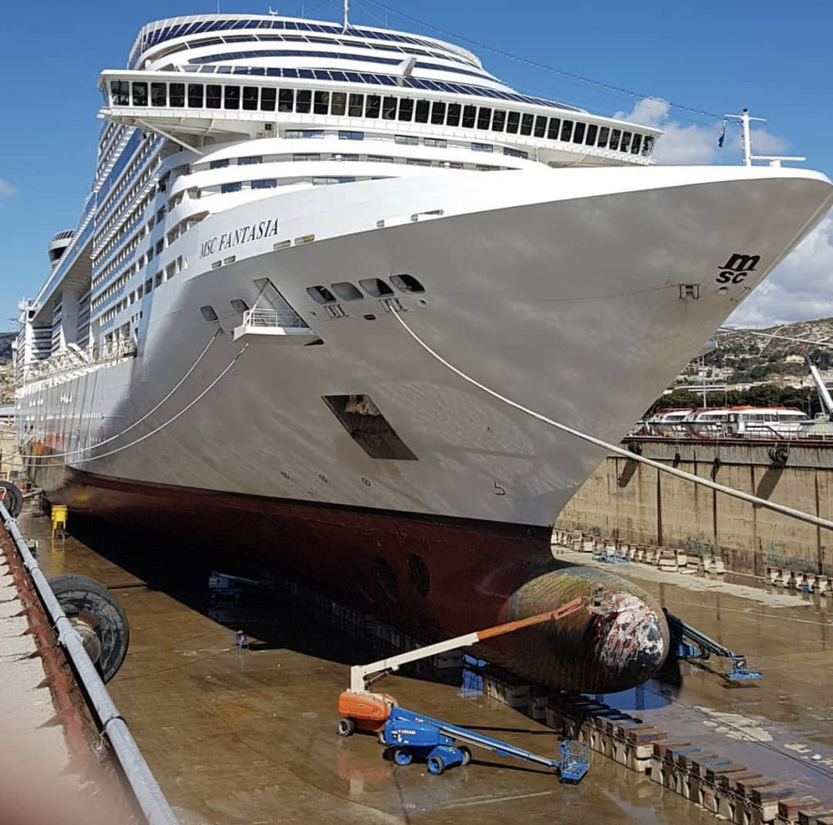 MSC dry dock schedule - MSC Cruises - Cruise Critic Community