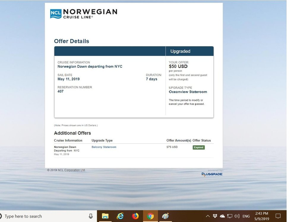 NCL Dawn 2019 Upgrade - Upgraded Oceanview.jpg
