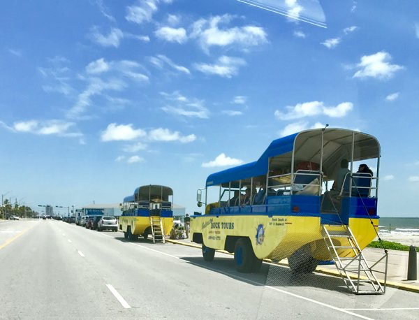 Galveston Texas duck tours