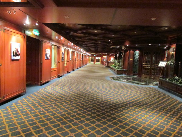 Photo Gallery area -- Ruby Princess