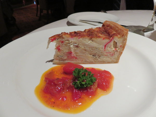 Seafood Quiche -- Crown Princess