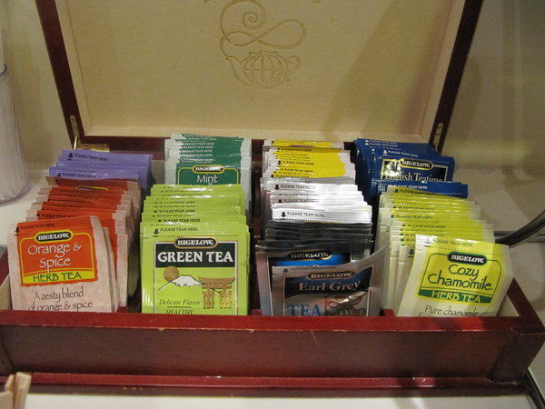 Tea Box -- Emerald Princess