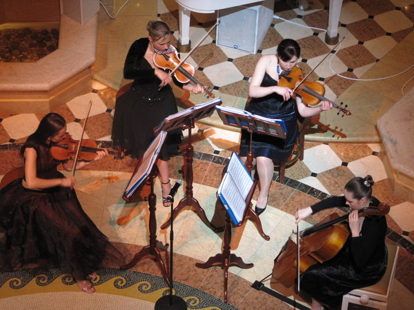 String Quartet -- Emerald Princess