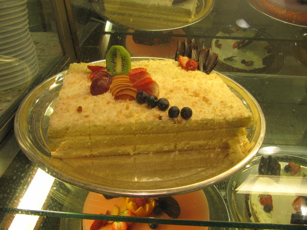 Coconut Cake -- Regal Princess
