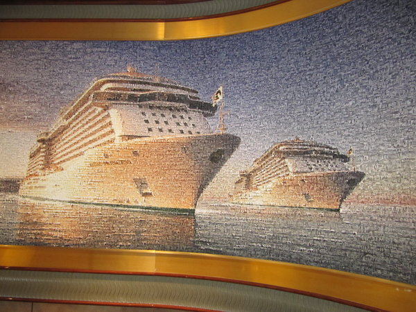 Regal Princess - Mural of Regal & Royal Princess