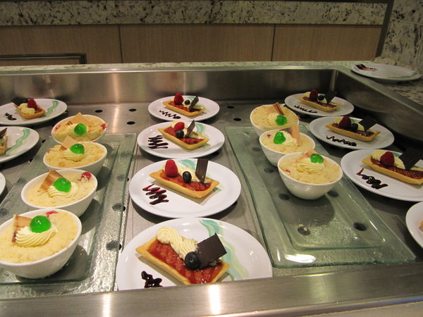 Various Desserts -- Regal Princess