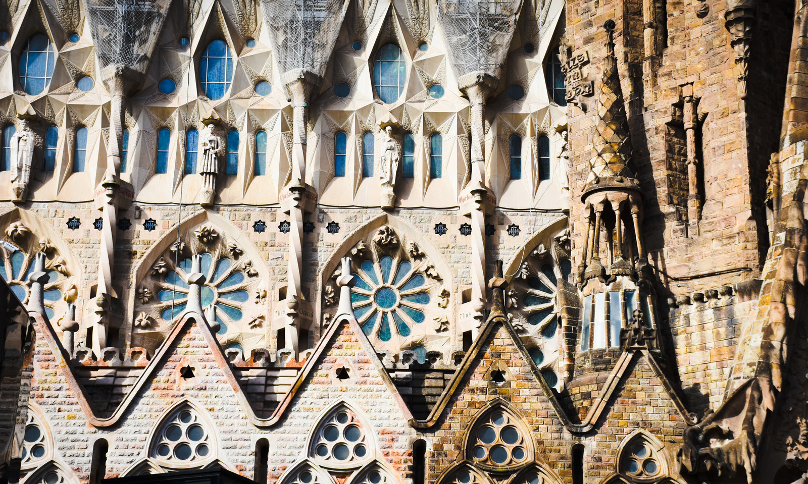 Gaudi Cathedral, Barcelona. Spain