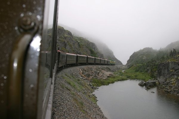 White Pass & Yukon Train - Skagway