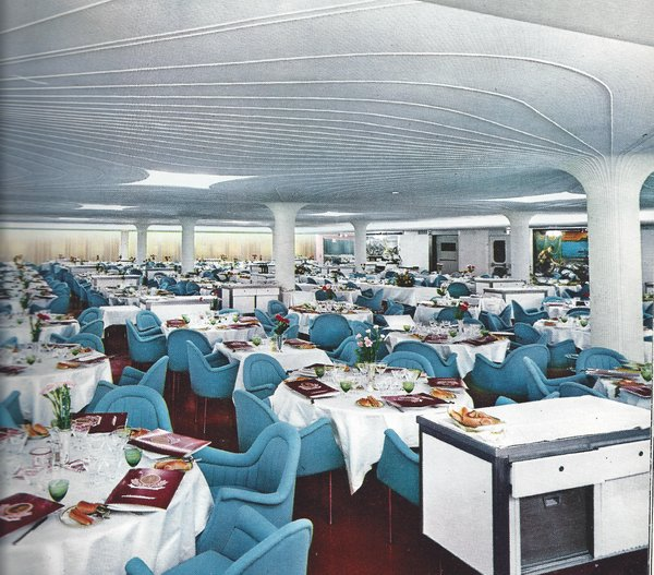 First Class Excelsior Dining Room of Raffaello