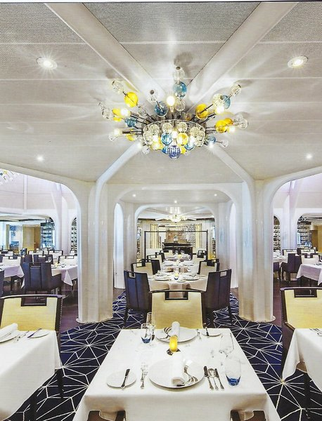 Seabourn Encore Main Dining Room