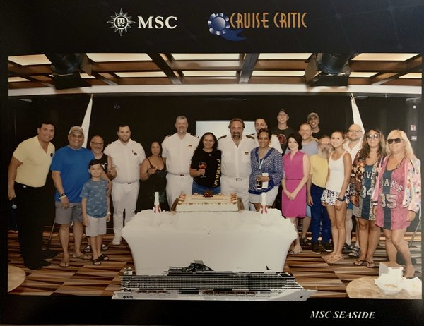 Meet and Mingle with Captain Marco Massa and Cruise Director Gene