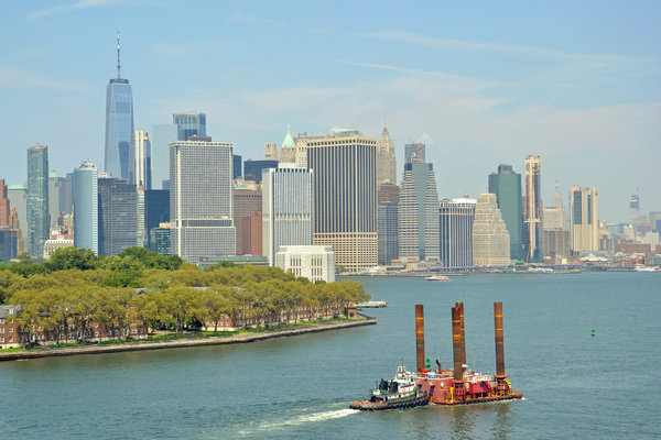 Manhattan and Governor's Island