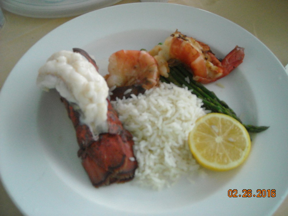 lobster and prawns.JPG