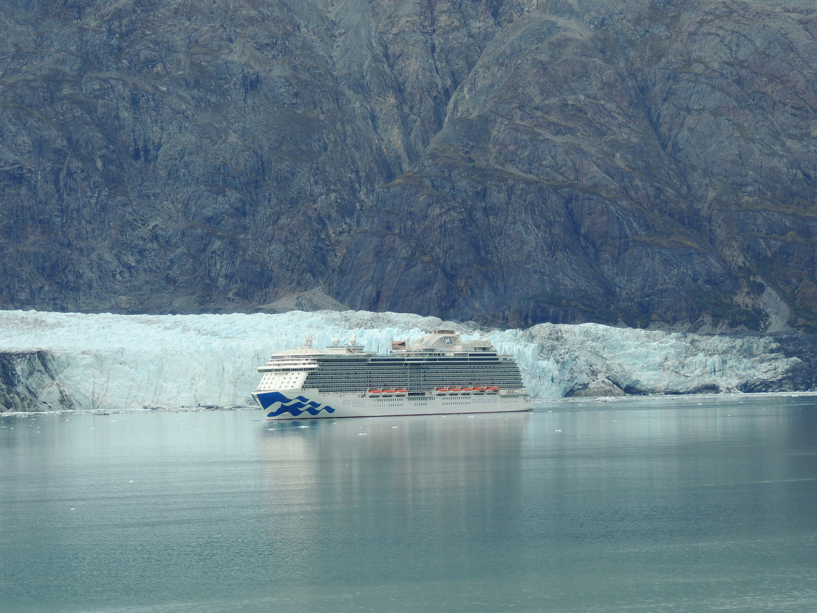 Royal Princess in Glacier Bay (2).JPG