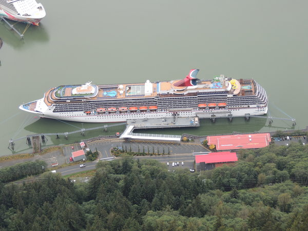 Carnival Spirit in Juneau