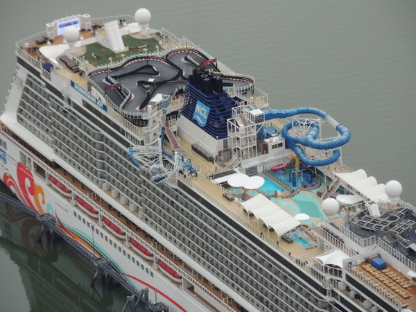 Norwegian Joy Top Deck