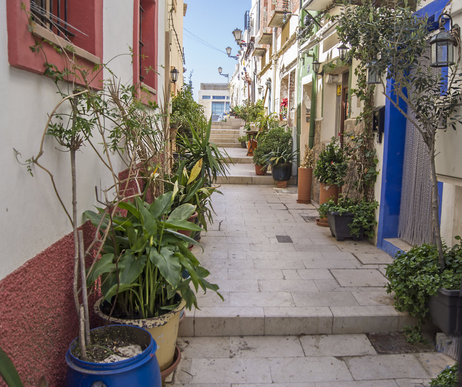 Barrio Santa Cruz, Alicante, Spain
