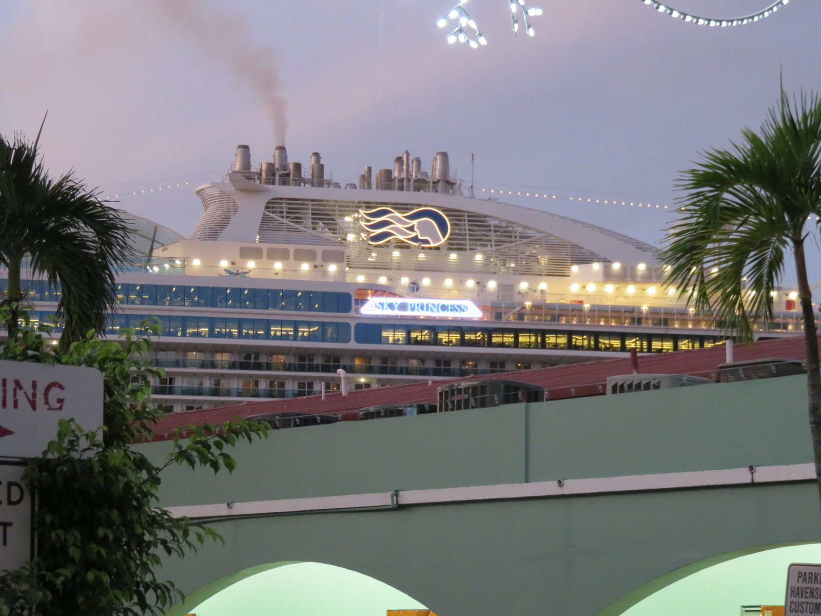 SKY Princess - Docked in St. Thomas