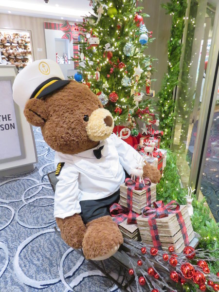 SKY Princess - Big Stanley the Bear in gift shop