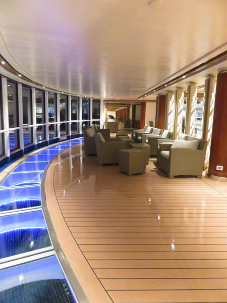 SKY Princess - Sea view Walk way & seating