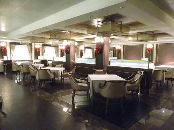 SKY Princess - Crown Grill restaurant
