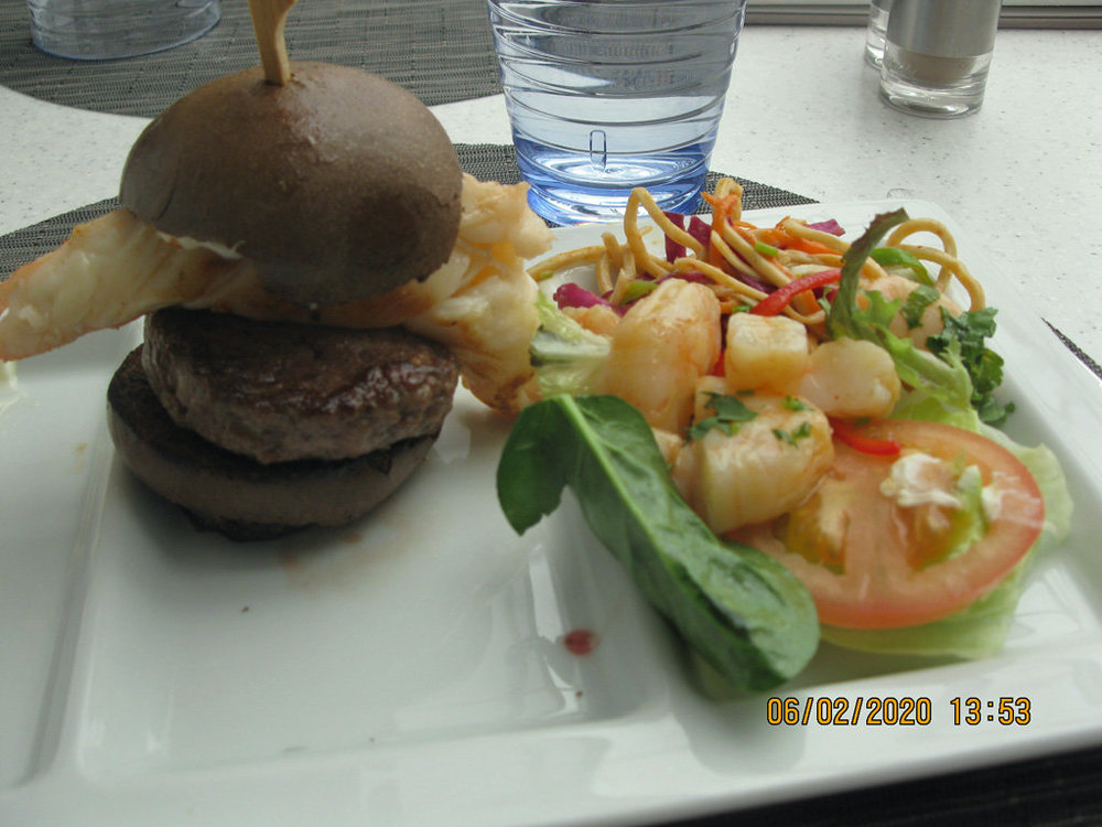 Lobster burger and salad.JPG