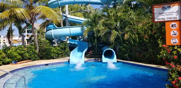 Water Slide at Amber Cove