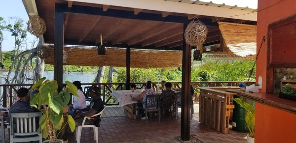 Local restaurant at Playa Bachata