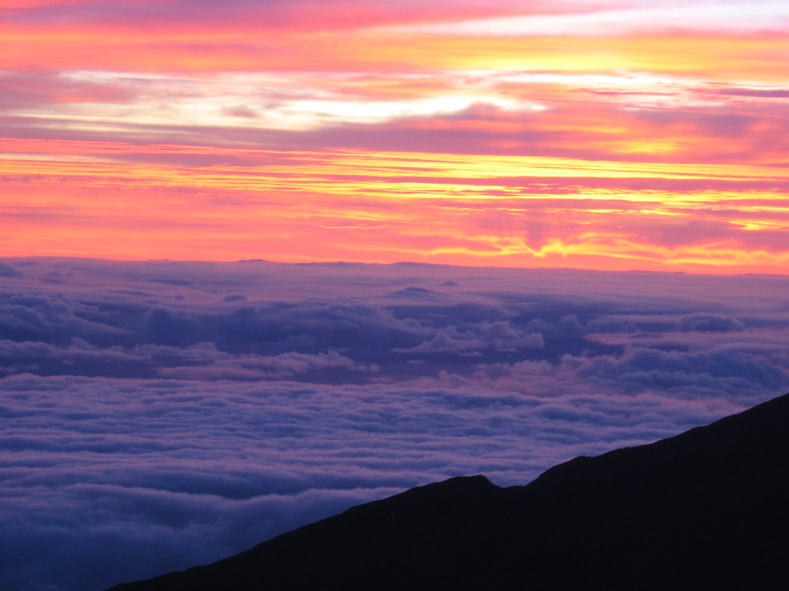 Sunrise from the summit of Haleakala