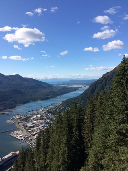 Juneau View on High