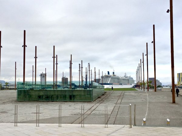 Harland and Wolff shipyard in Belfast where the Titanic was built
