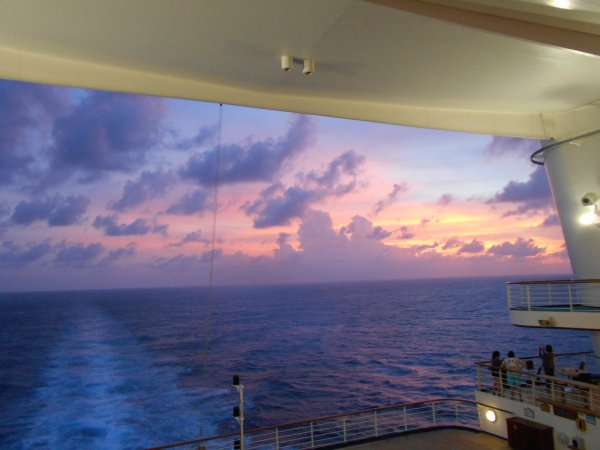 Caribbean Princess - Sunset
