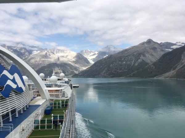 Ruby Princess - Alaska - Aug. 2019