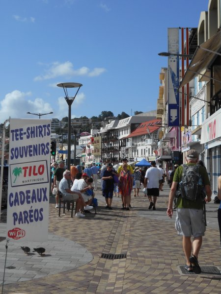 Martinique / Fort-de-France / Main Street Shopping