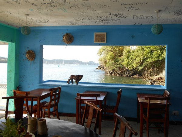 Grenada - St. George's - BB's Cafe'