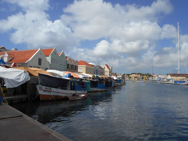 Curacao - Willemstad - Waterfront Market