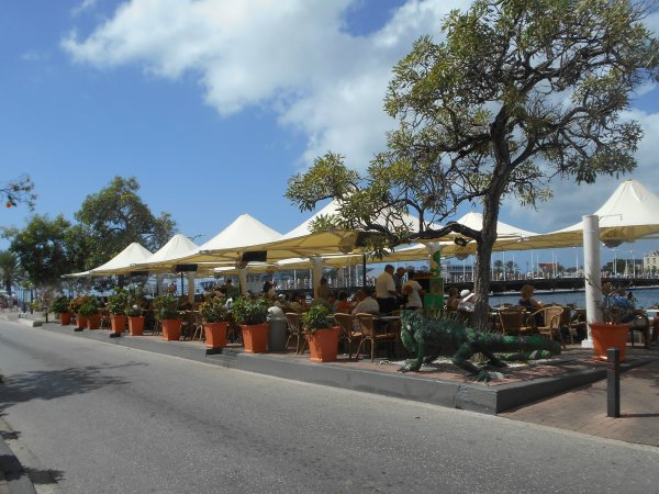 Curacao -  Willemstad - Iguana Cafe